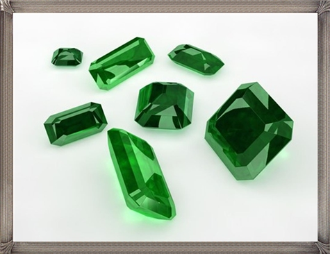 Green-Emerald-loose-gemstones.-Numerous-cuts-and-sizes Steps To Take When Buying Loose Gemstones