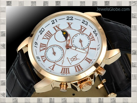 Gryphos-Leder-Rose-expensive-watches-for-men 15 Most Expensive Men's Watches in The World (Exclusive)