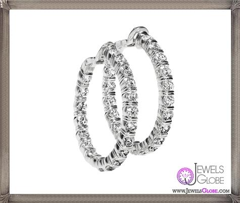 HARRY-WINSTON-DIAMOND-HOOP-EARRINGS These Are The BEST 32 Diamond Hoop Earrings You'll See (Plus Shopping Tips)