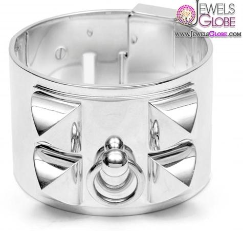 Hermès-Collier-de-Chien-Big-Sterling-Silver-Cuff-Bracelet 35 Hot Cuff Bracelets For Women