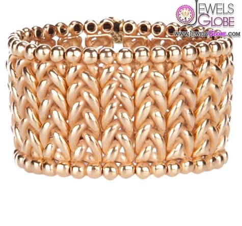 Herringbone-cuff-bracelet 35 Hot Cuff Bracelets For Women