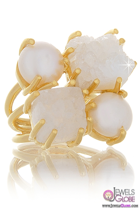 ISHARYA-DRUZY-Double-Pearl-Ring-for-Sale Top Pearl Rings For Sale