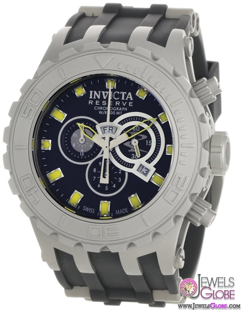 Invicta-Mens-Reserve-Subaqua-Specialty-Black-Watch Stylish Invicta Watches For Men