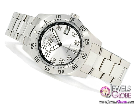 Invicta-Mens-Sport-Swiss-Quartz-Day-and-Date-SS-Watch Stylish Invicta Watches For Men