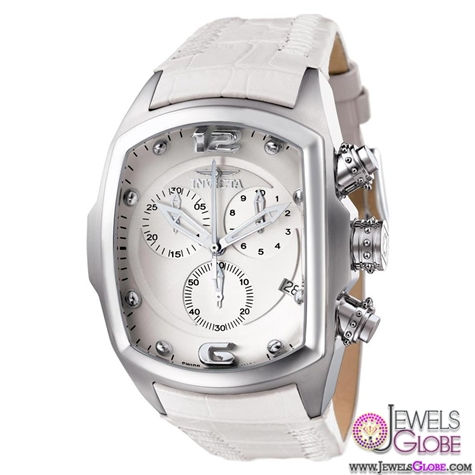 Invicta-Mens-White-Lupah-Revolution-watch Stylish Invicta Watches For Men