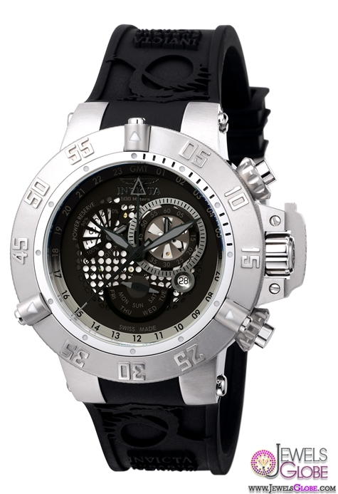 Invicta-Subaqua-Noma-GMT-Chronograph-Mens-Watch Stylish Invicta Watches For Men