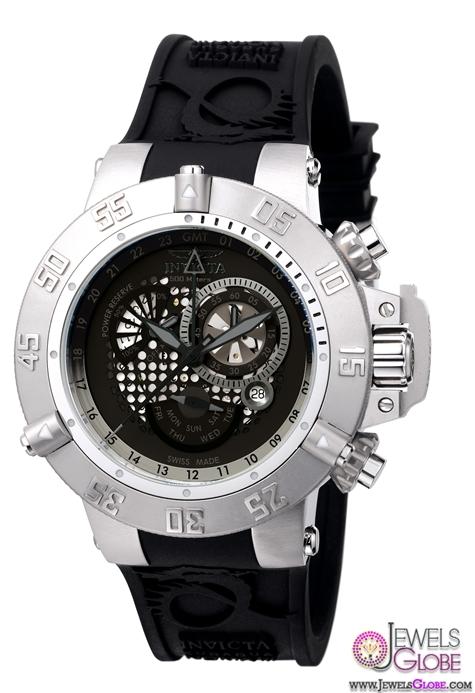Invicta-Subaqua-Noma-GMT-Chronograph-Mens-Watch Stylish Invicta Watches For Men