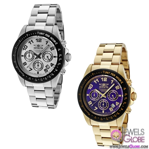 Invicta-Watch-Mens-Speedway-Chronograph-2-Styles Stylish Invicta Watches For Men