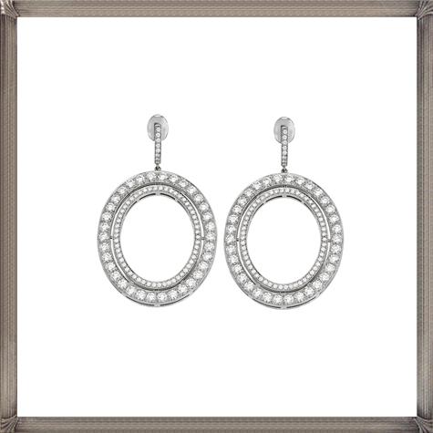 Ivanka-Trump-18k-Medium-Signature-Diamond-Earrings Latest Signature Diamond Earrings For Women