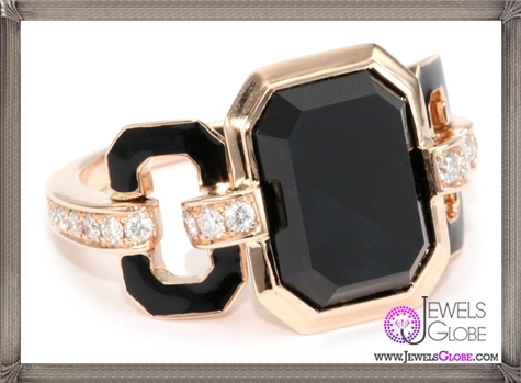 Ivanka-Trump-Octagonal-Band-Ring-with-Black-Onyx-and-Diamonds Ivanka Trump Jewellery Collection