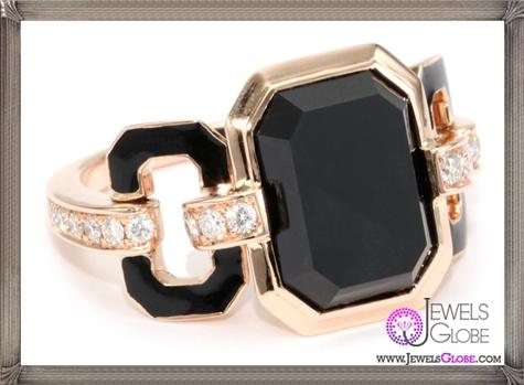 Ivanka-Trump-Octagonal-Band-Ring-with-Black-Onyx-and-Diamonds Ivanka Trump Jewellery Collection