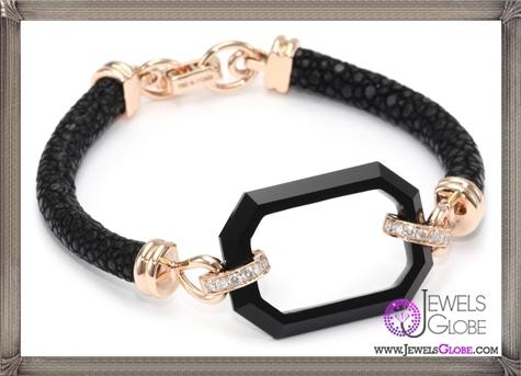 Ivanka-Trump-Octagonal-Black-Onyx-and-Diamond-Stingray-Bracelet Ivanka Trump Jewellery Collection