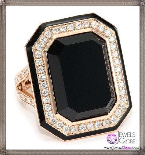 Ivanka-Trump-Octagonal-Cocktail-Ring-with-Black-Onyx-and-Diamonds Ivanka Trump Jewellery Collection