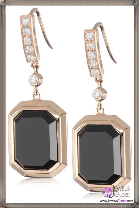 Ivanka-Trump-Octagonal-Earrings-with-Black-Onyx-and-Diamonds Ivanka Trump Jewellery Collection