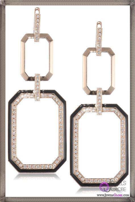 Ivanka-Trump-Octagonal-Open-Dangle-Earrings-with-Diamonds Ivanka Trump Jewellery Collection