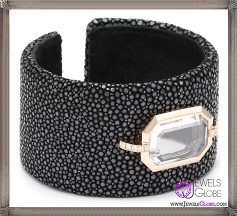 Ivanka-Trump-Octagonal-Stingray-Cuff-with-Rock-Crystal-and-Diamonds Ivanka Trump Jewellery Collection