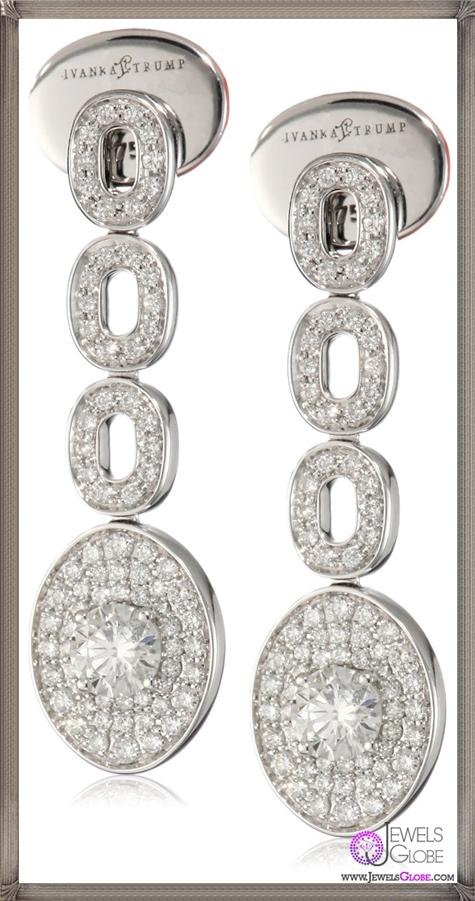 Ivanka-Trump-Signature-Bridal-Oval-Pave-Diamond-Drop-Earrings Ivanka Trump Jewellery Collection
