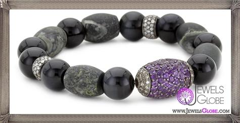 Jordan-Alexander-Jasper-with-Tiger-Eye-and-Pave-Amethyst-Bead-Bracelet Jordan Alexander Jewelry and Where To Buy Best Designs