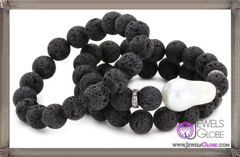 Jordan-Alexander-Lava-with-White-Pearl-Bracelet-Set Jordan Alexander Jewelry and Where To Buy Best Designs