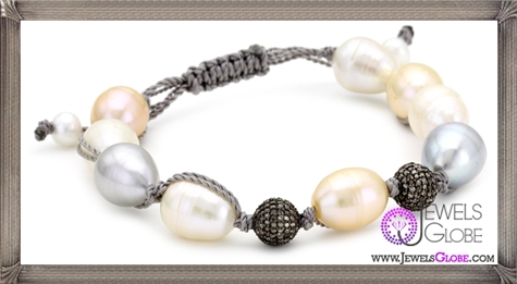 Jordan-Alexander-Multi-Color-Pearl-with-Diamond-Beads-Bracelet Jordan Alexander Jewelry and Where To Buy Best Designs