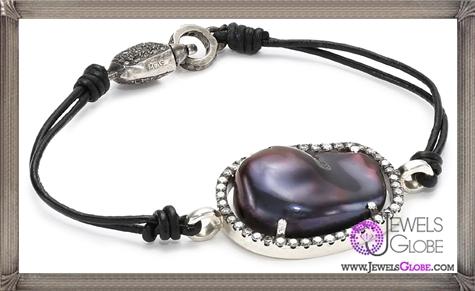Jordan-Alexander-Slice-Leather-and-Exterior-Peacock-Pearl-Slice-and-Diamond-Bracelet Jordan Alexander Jewelry and Where To Buy Best Designs