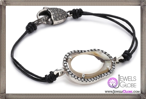 Jordan-Alexander-Slice-Leather-and-Exterior-White-Pearl-Slice-and-Diamond-Bracelet Jordan Alexander Jewelry and Where To Buy Best Designs