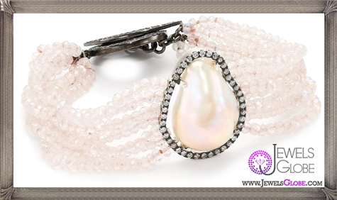 Jordan-Alexander-Slice-Moonstone-with-Exterior-White-Pearl-Slice-and-Diamond-Bracelet Jordan Alexander Jewelry and Where To Buy Best Designs