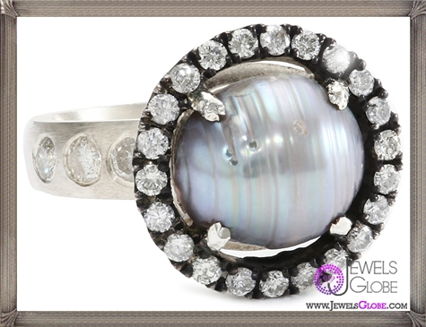 Jordan-Alexander-Slice-Silver-and-Exterior-Tahitian-Pearl-Slice-and-Diamond-Ring Jordan Alexander Jewelry and Where To Buy Best Designs