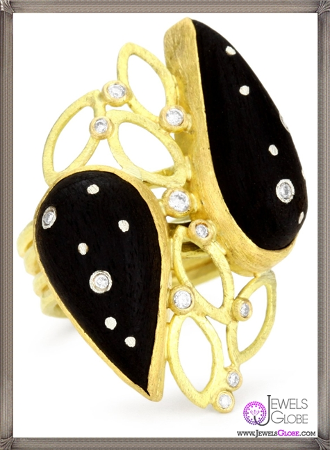 Julieli-Eco-Black-Ebony-with-18k-Gold-and-Pure-Silver-Diamond-Ring Top 7 Tips Before Buying Julieli Jewelry