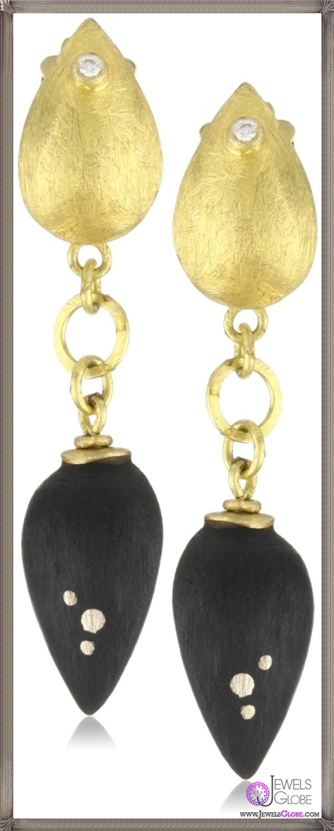 Julieli-Eco-Ebony-with-18k-Gold-and-Pure-Silver-Diamond-Earrings Top 7 Tips Before Buying Julieli Jewelry