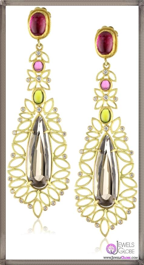 Julieli-Metaform-18k-Gold-Multicolor-Tourmalines-Smoky-Quartz-and-Diamond-Earrings Top 7 Tips Before Buying Julieli Jewelry