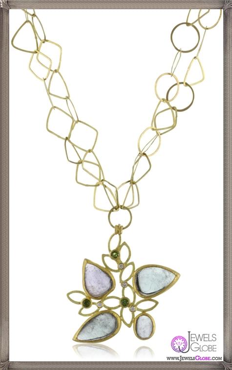 Julieli-Metaform-One-Of-A-Kind-Tourmaline-18k-Gold-Diamond-Pendant-Necklace Top 7 Tips Before Buying Julieli Jewelry