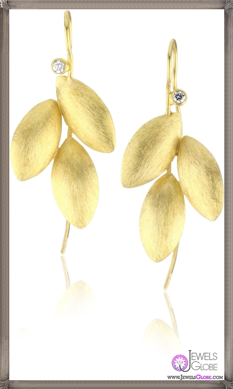 Julieli-Reflections-22k-Gold-and-Diamond-Leaf-Shape-Pods-Earrings Top 7 Tips Before Buying Julieli Jewelry