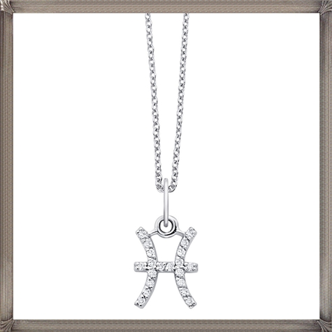 KC-Designs-Zodiac-Pisces-18K-White-Gold-Diamond-Necklace The 13 Most Stylish White Gold Necklaces For Women and Choice TIPS