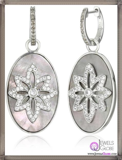 Katie-Decker-2-in-1-Vine-and-Flower-Earrings Best 32 Katie Decker Jewelry Designs for This Year