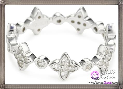 Katie-Decker-Deco-Flower-Clear-Stack-Ring Best 32 Katie Decker Jewelry Designs for This Year