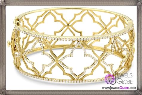 Katie-Decker-Elizabeth-18k-Yellow-Gold-and-Diamond-Cuff-Bracelet Best 32 Katie Decker Jewelry Designs for This Year