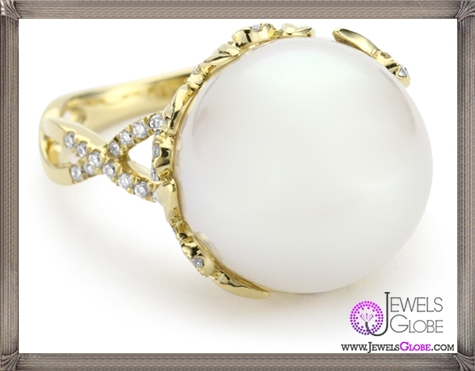 Katie-Decker-Ivy-18k-Diamond-and-South-Sea-Pearl-Ring Best 32 Katie Decker Jewelry Designs for This Year