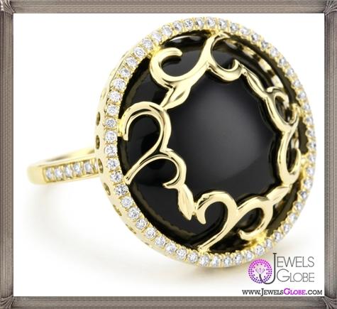 Katie-Decker-Ivy-18k-Yellow-Gold-and-Diamond-Vine-Ring Best 32 Katie Decker Jewelry Designs for This Year