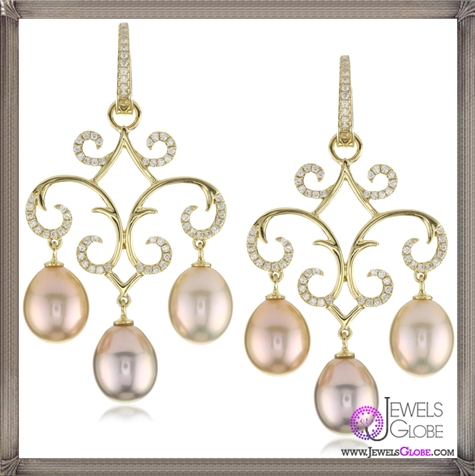 Katie-Decker-Jane-18k-Yellow-Gold-and-Freshwater-Pearl-Earrings Best 32 Katie Decker Jewelry Designs for This Year