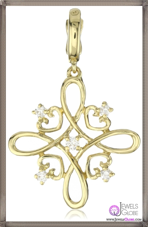 Katie-Decker-Knot-18k-Yellow-Gold-and-Diamond-Charm Best 32 Katie Decker Jewelry Designs for This Year