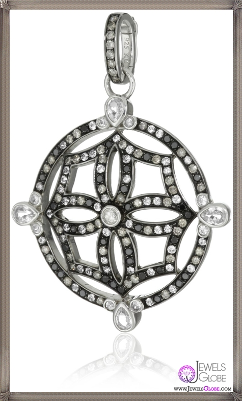 Katie-Decker-Mosaic-Maltese-Cross-Pendant-Necklace-Enhancer Best 32 Katie Decker Jewelry Designs for This Year