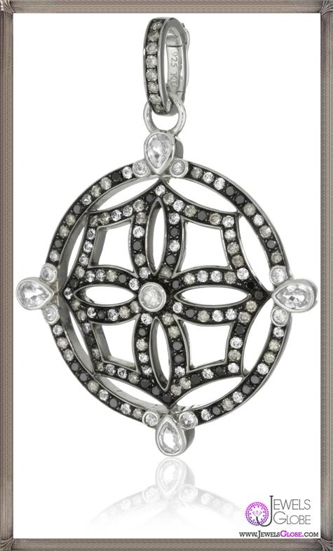 Katie-Decker-Mosaic-Maltese-Cross-Pendant-Necklace-Enhancer Best 32 Katie Decker Jewelry Designs for This Year