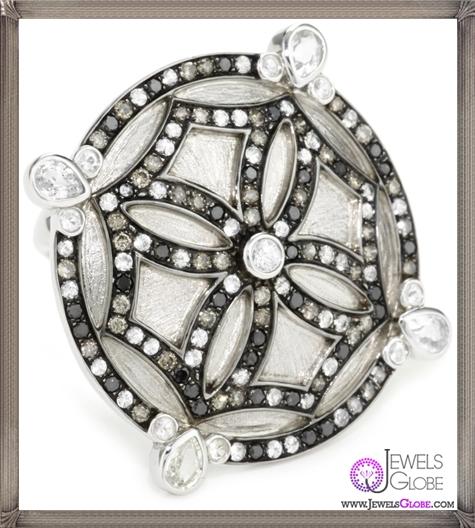 Katie-Decker-Mosaic-Maltese-Cross-Ring Best 32 Katie Decker Jewelry Designs for This Year