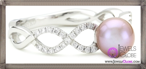 Katie-Decker-Stackable-18k-White-Gold-Freshwater-Pearl-Ring Best 32 Katie Decker Jewelry Designs for This Year