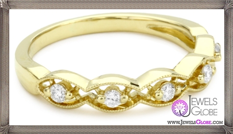 Katie-Decker-Stackable-18k-Yellow-Gold-and-Diamond Best 32 Katie Decker Jewelry Designs for This Year