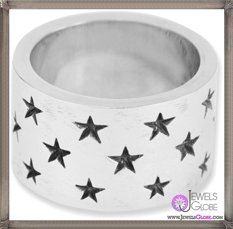 King-Baby-Wide-Band-with-Stars-Sterling-Silver-Ring Best King Baby Jewelry Pieces