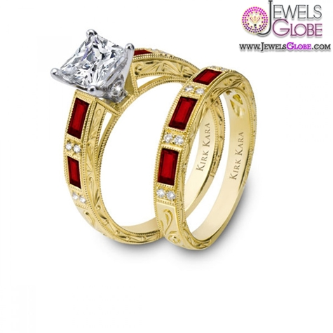 Kirk-Kara-Charlotte-Ruby-Engagement-Ring The Most Stylish Gemstone Engagement Rings