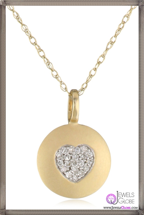 Kobelli-Amour-Round-Diamond-Fashion-Pendant-Necklace Kobelli Jewelry and its Best STYLISH 31 Designs