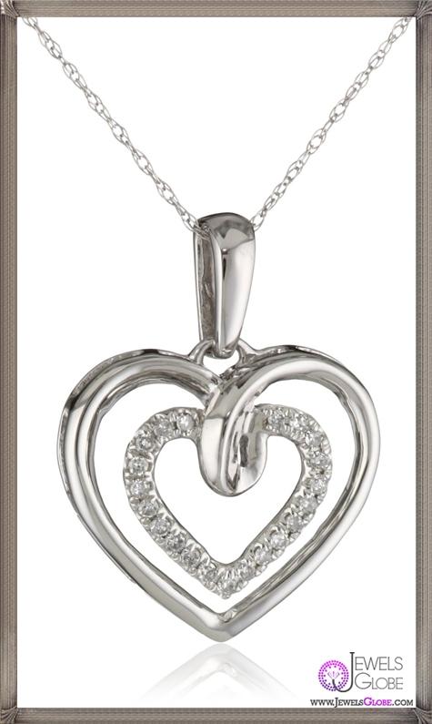 Kobelli-Amour-White-Gold-Round-Diamond-Fashion-Pendant-Necklace Kobelli Jewelry and its Best STYLISH 31 Designs